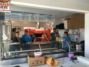 Pictured Rocks Pizza staff and AC3 volunteers worked together on this awesome fundraiser and awareness program.