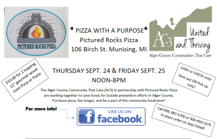 2020 Pizza with a Purpose Flyer