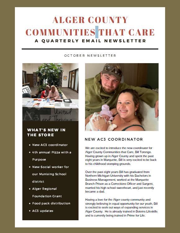 2020 Quarterly Newsletter Cover
