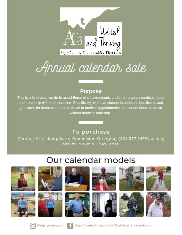 Calendar Sale Flyer
